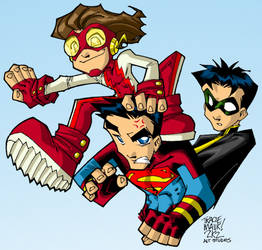 Young Justice Boys by Maukingbird