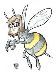 Tracie is a Bee by Maukingbird