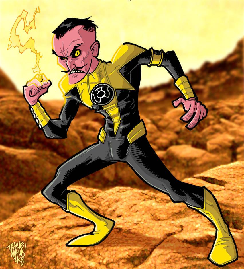 Sinestro by Maukingbird
