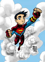 Superboy Has Cloud Apathy by Maukingbird