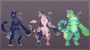 [OPEN] Creature Adopts Flat Sale by timidArimations