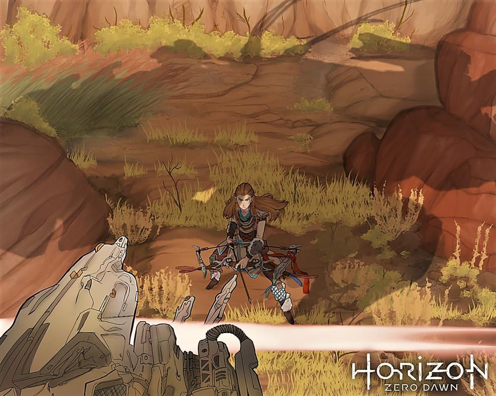 Horizon: Zero Dawn by LS-Leon
