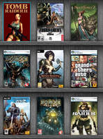 Some of my games by 3DShe