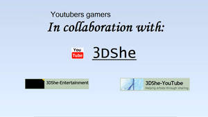 Collaburation! Youtuber Gamers! by 3DShe