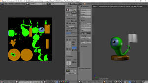 Creating a toy for jacksepticeye Sam by 3DShe