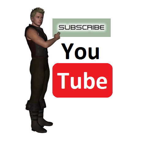 Subscribe 3DShe youtube by 3DShe