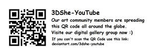3DShe-YouTube QR CODE (updated)