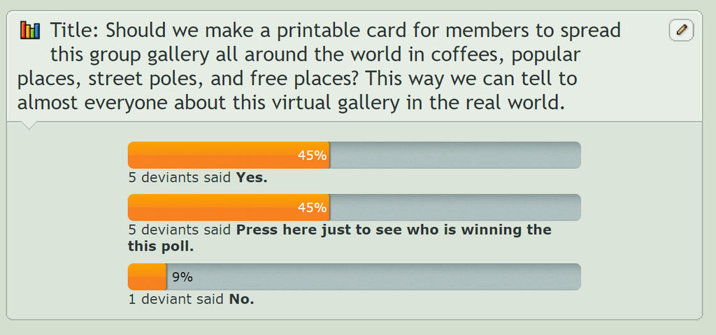 Poll by 3DShe