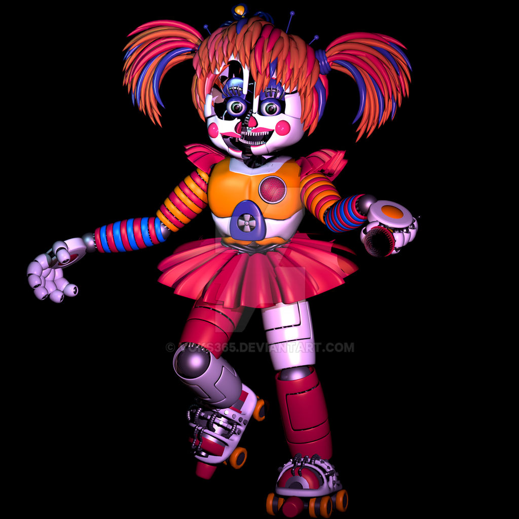 ShowTime Baby (My Version Of Fixed Scrap Baby) By Voks365