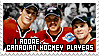Canadian hockey players by SneakyRossi
