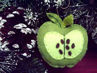 Handmade My Little Pony Big Mac Christmas Ornament by Slipsntime