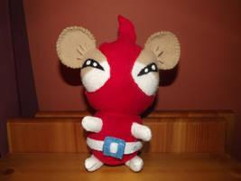 Hamtaro Red Punster aka Howdy