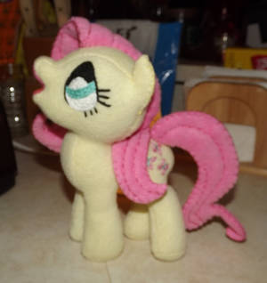 Fluttershy 1c Inspired by Lauren Faust Concept Art