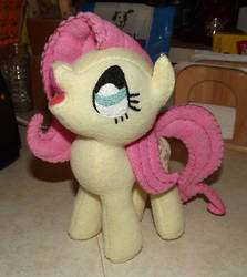 Fluttershy 1a Inspired by Lauren Faust Concept Art by Slipsntime
