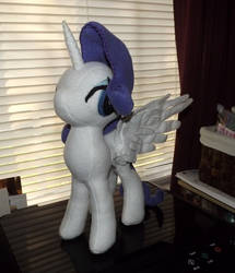 Rarity Alicorn 1A by Slipsntime