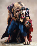 Beauty and the Beast statue2