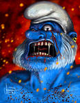 Warrior Smurf