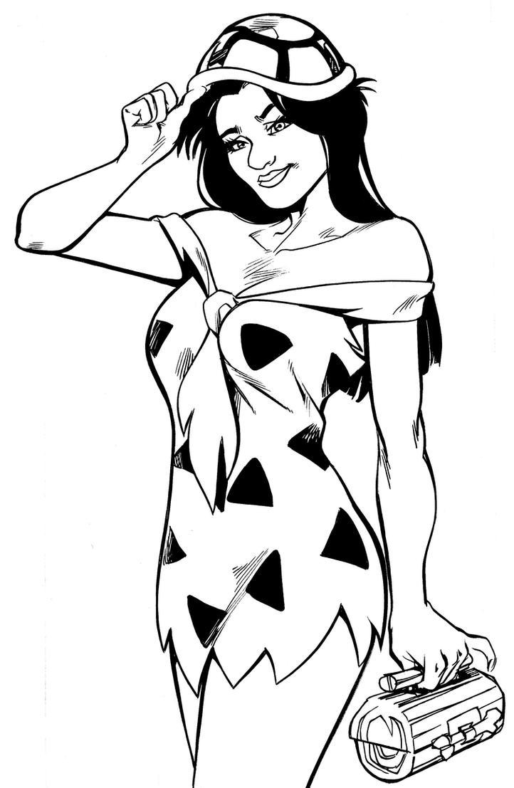 Freida Flintstone by MarianoNavarro