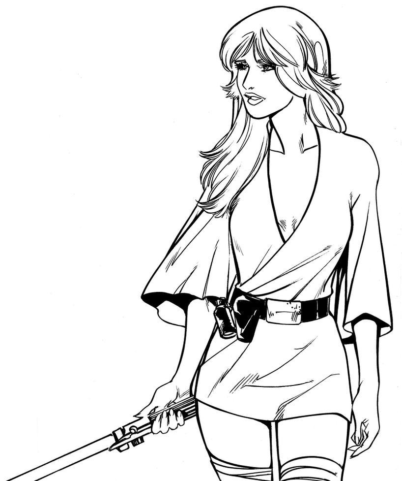 Lucy Skywalker by MarianoNavarro