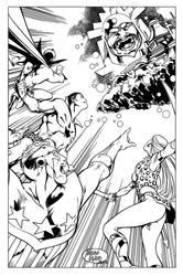 Mighty Crusaders by MarianoNavarro