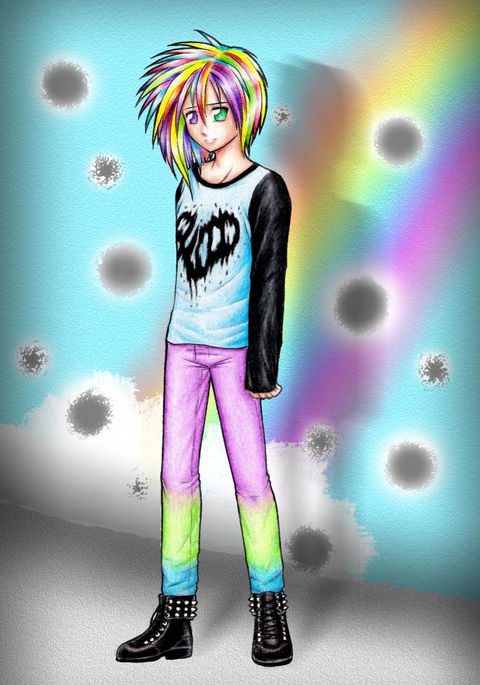 Kumo in Pastel-Goth way by DayseRosi