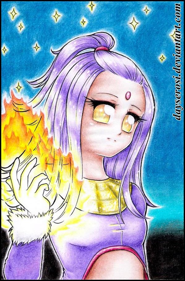 Blaze gijinka-style by DayseRosi