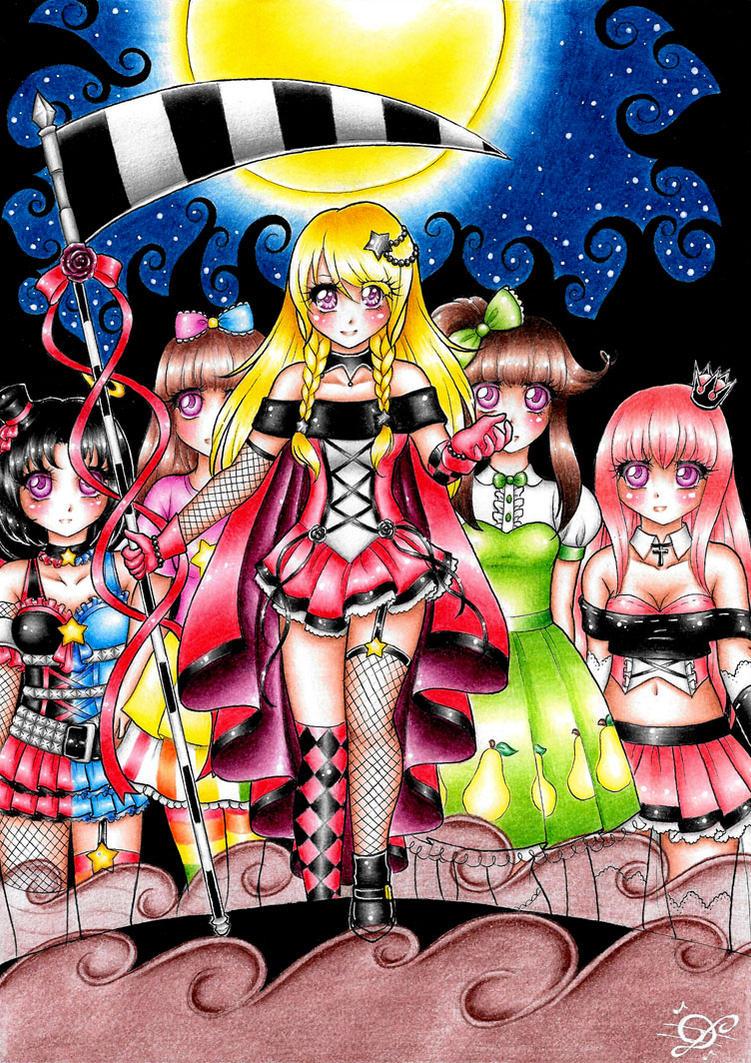 Medusa n friends by DayseRosi
