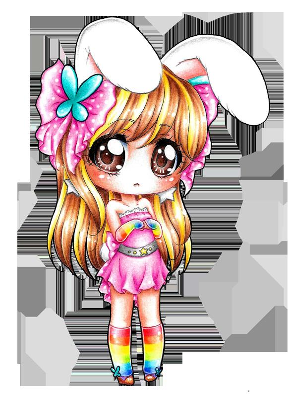 Shy Bunny by DayseRosi