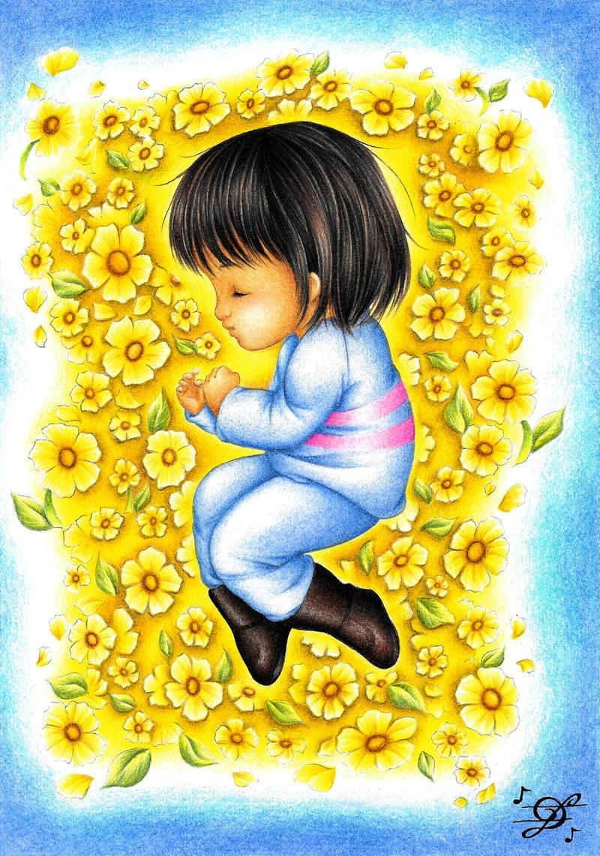 Flowers' Bed by DayseRosi