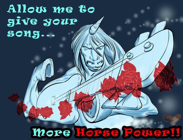Horsepower by Mokuu