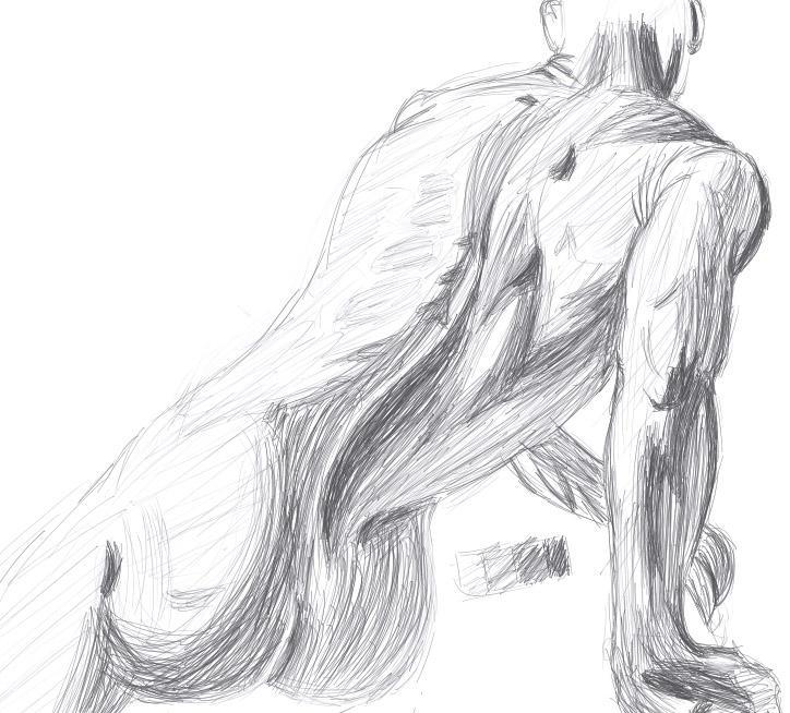 Male anatomy practice 1 by Mokuu on DeviantArt