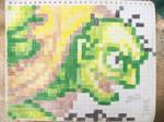 Pixel-Paper: Gen-an Shiranui by carloshorment