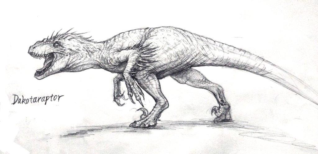 Dakotaraptor steini by FinalGojiTTOR