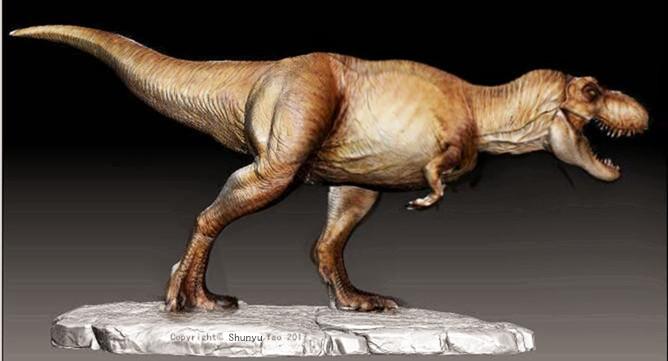 Friend-make T-rex model in JP Female color by FinalGojiTTOR