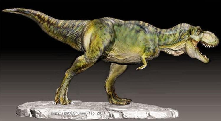 Friend-make T-rex model in JP Male color by FinalGojiTTOR