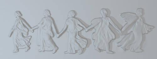 Bacchus' Dancing Maidens WIP 2 by vilesyn