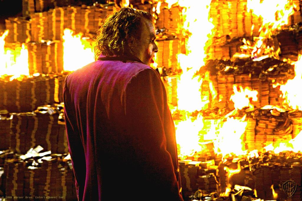 Burning Money.