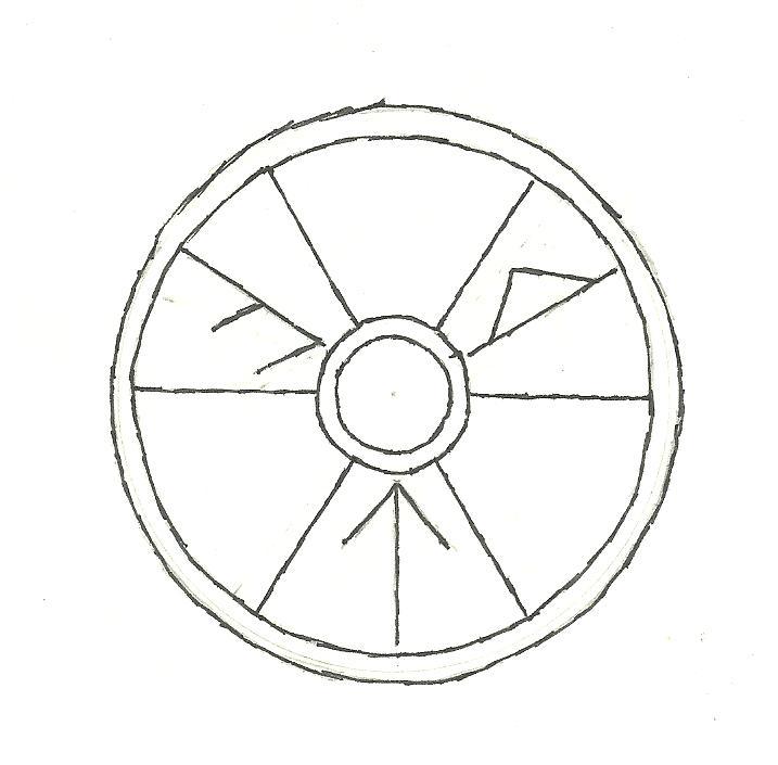 Line Art Ks2 : Viking shield design by varentill on deviantart