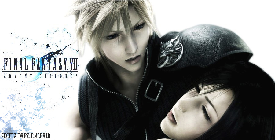 Cloud And Tifa Wallpaper By Cecilia Dark Emerald
