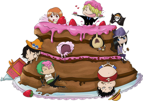 One piece of cake by Lulusama