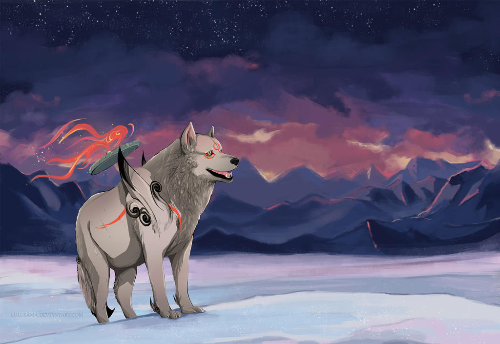 Amaterasu by Lulusama