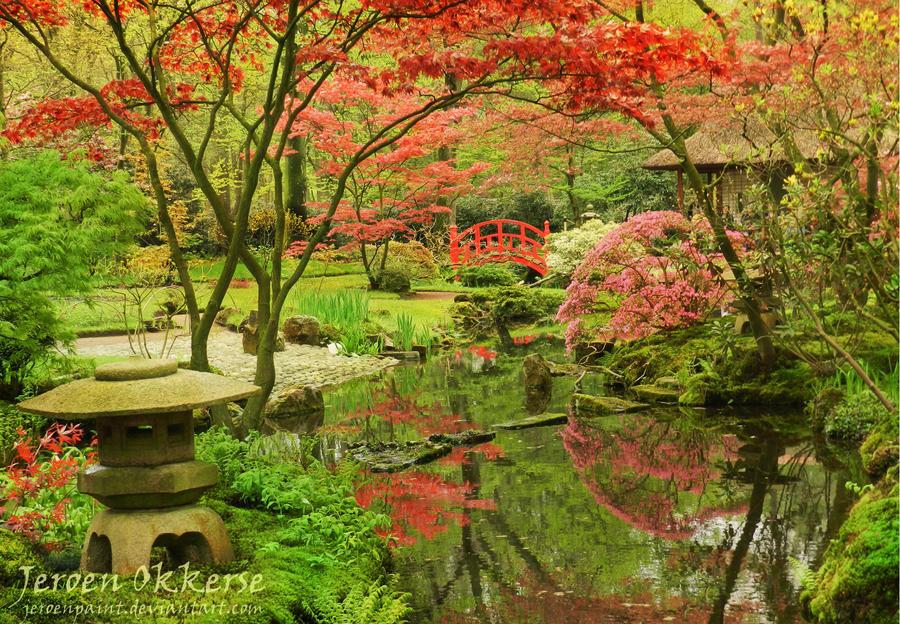 Japanese Garden by jeroenpaint
