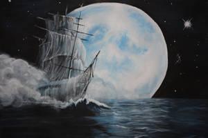 Ghost Ship by kibby666
