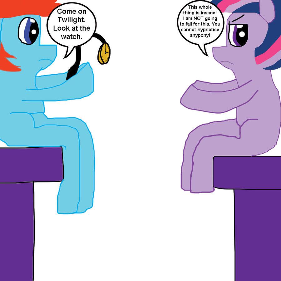 Twilight Sparkle's Hypnotism by MasterYubel