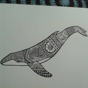 Henna Whale