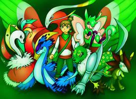 Pokemon Uranium: vs Curie by MidoriNichirin