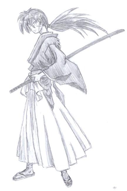Rurouni Kenshin By Godzilla999