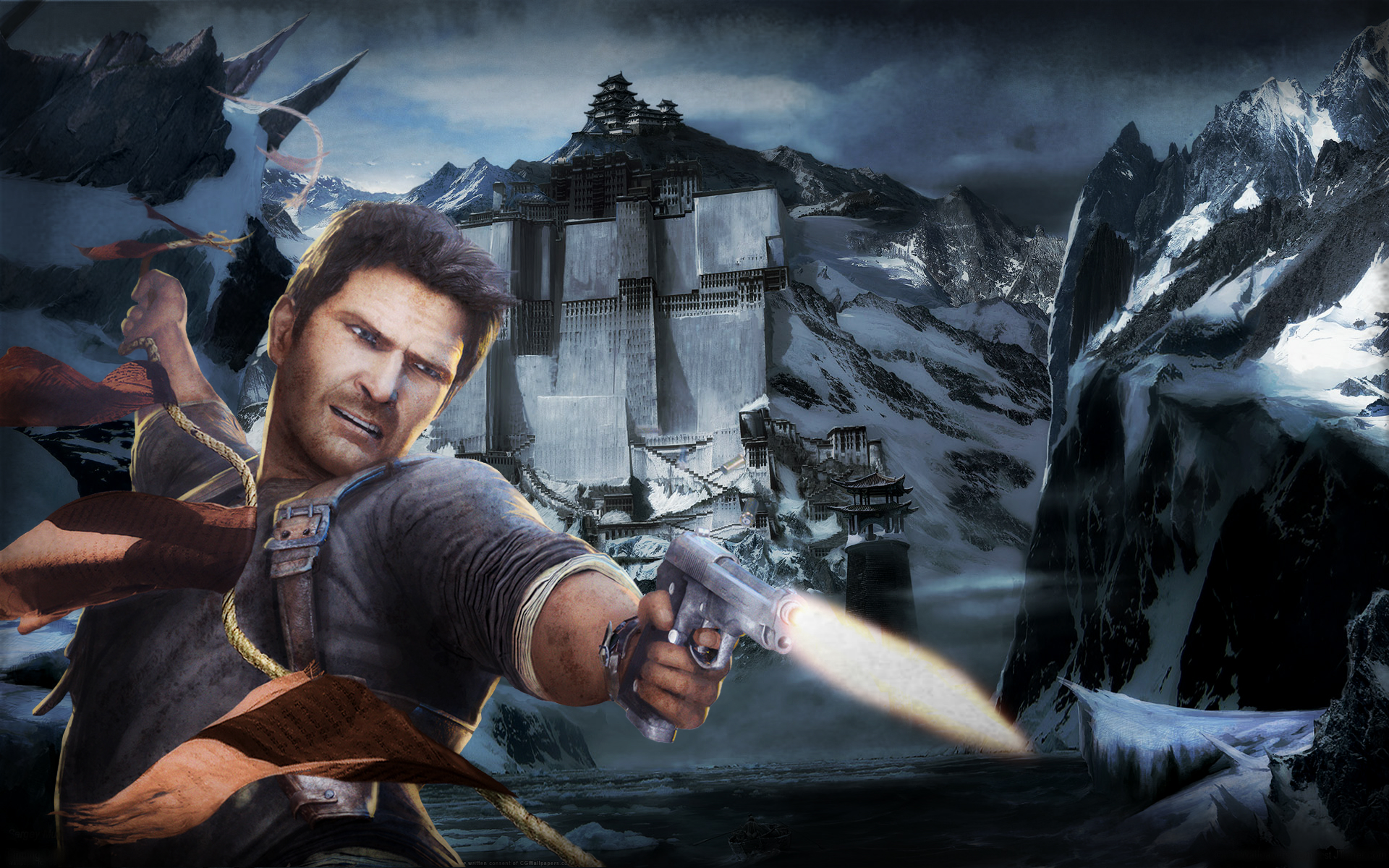 Uncharted Wallpaper Nathan Drake Requested By Nolan989890 On