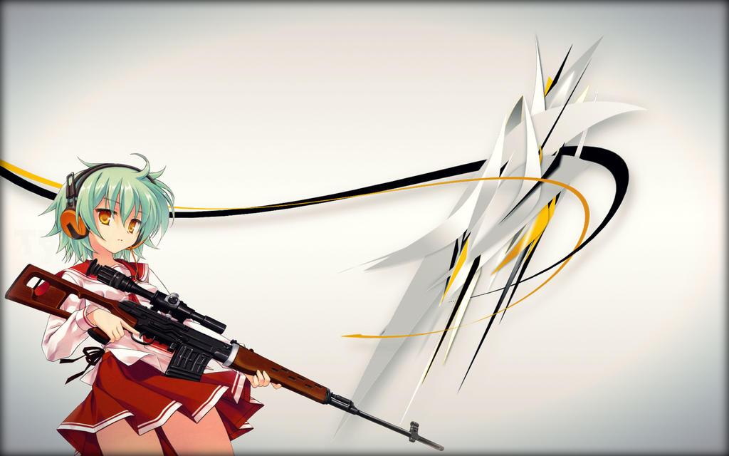 Sniper Girl Wallpaper 2 By Nolan989890 On DeviantArt