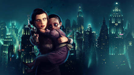 Bioshock Infinite Burial at Sea - Stay back by Nolan989890